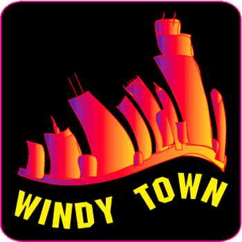 windy town logo